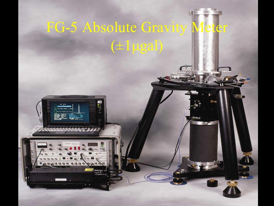 FG-5 Absolute Gravity Meter (±1μgal)