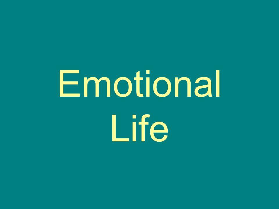 Emotional Life