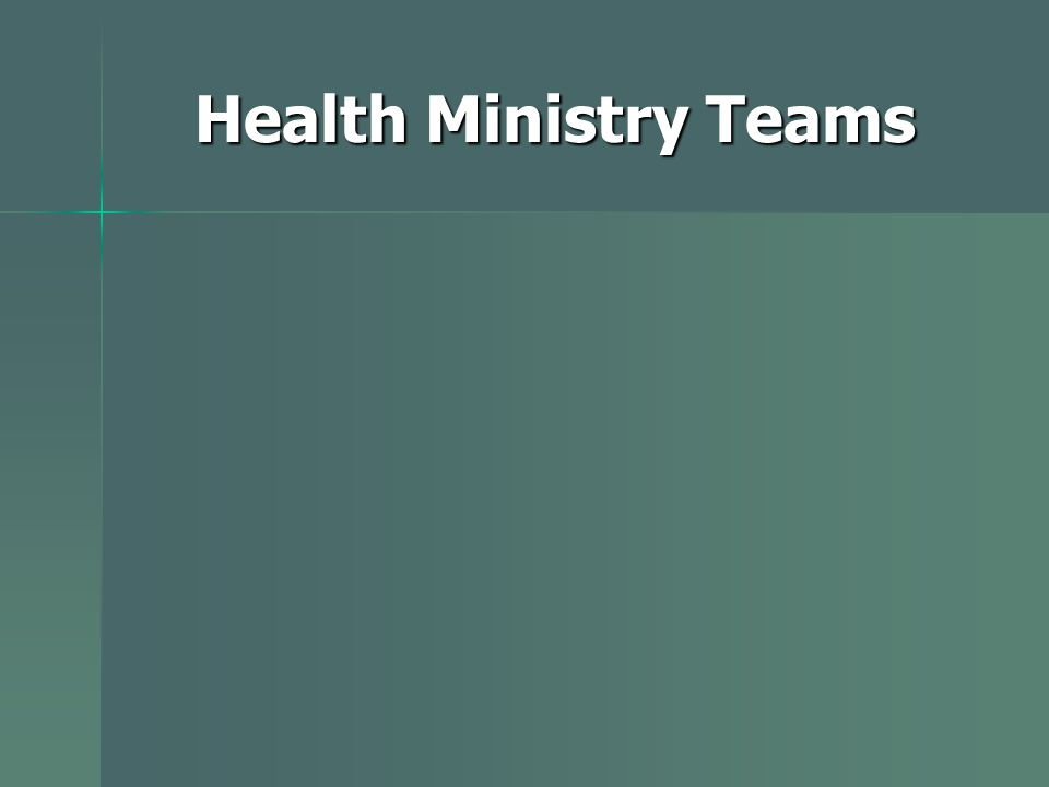 Health Ministry Teams