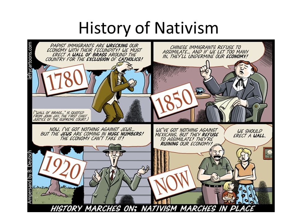 History of Nativism