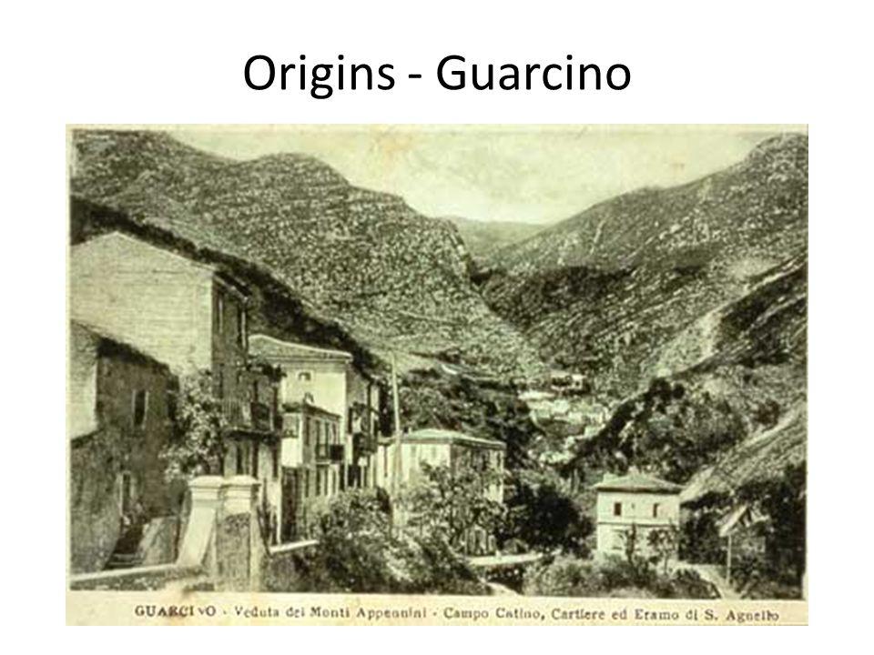 Origins - Guarcino