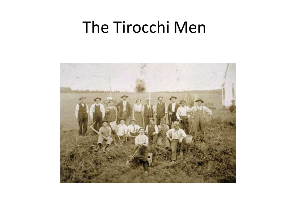 The Tirocchi Men