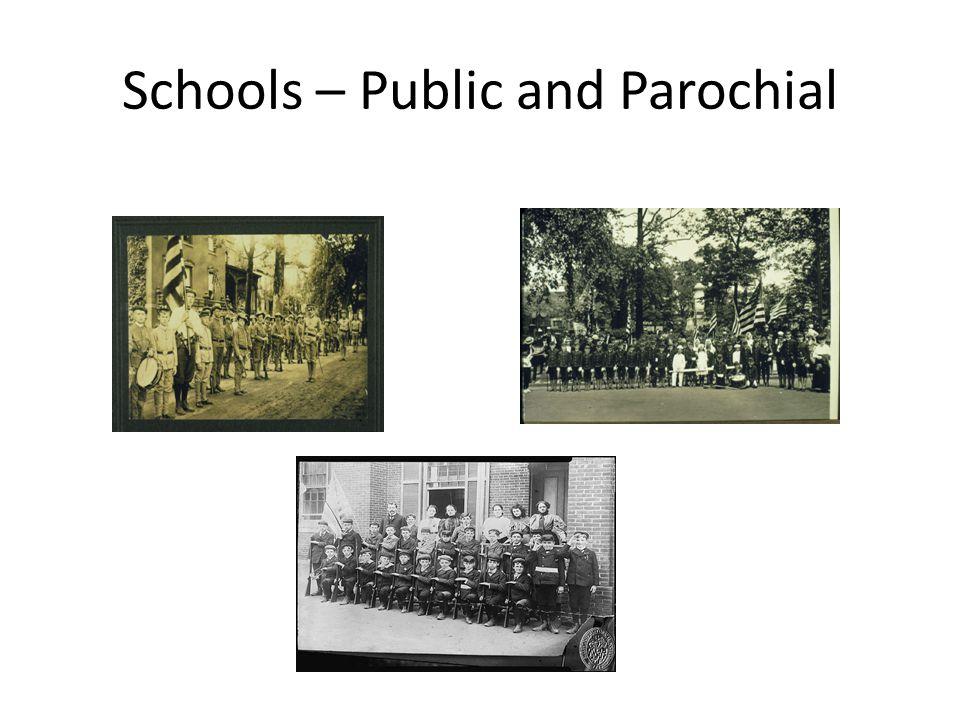 Schools – Public and Parochial