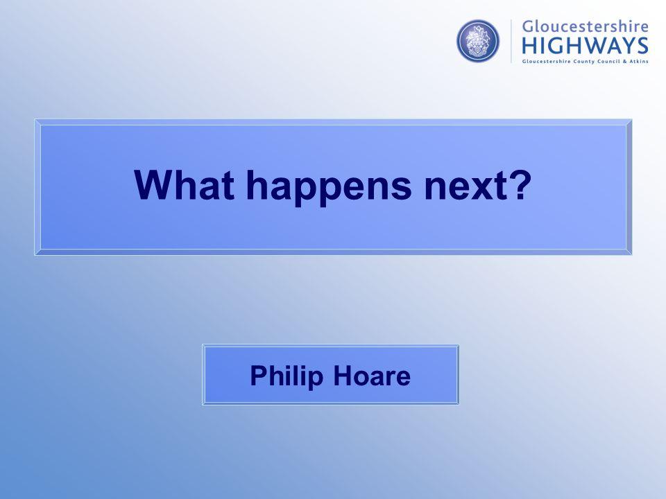 What happens next Philip Hoare