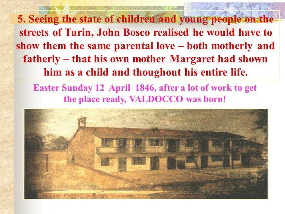 Words for John Bosco the priest Turin, 5 June 1841.
