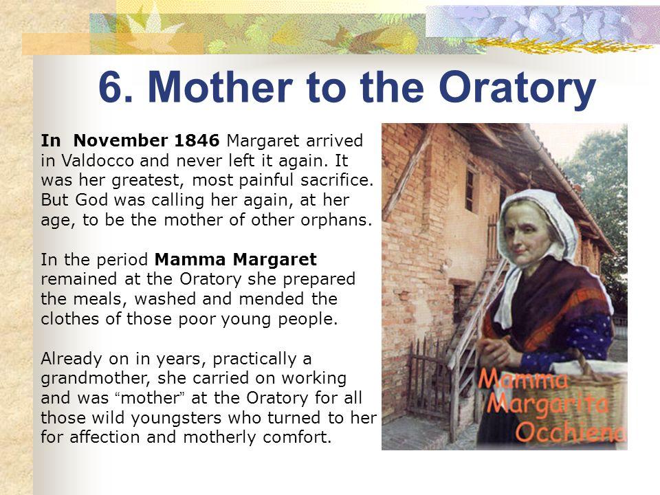 Autumn 1846. Mamma Margaret is 58 years old, Don Bosco 31.