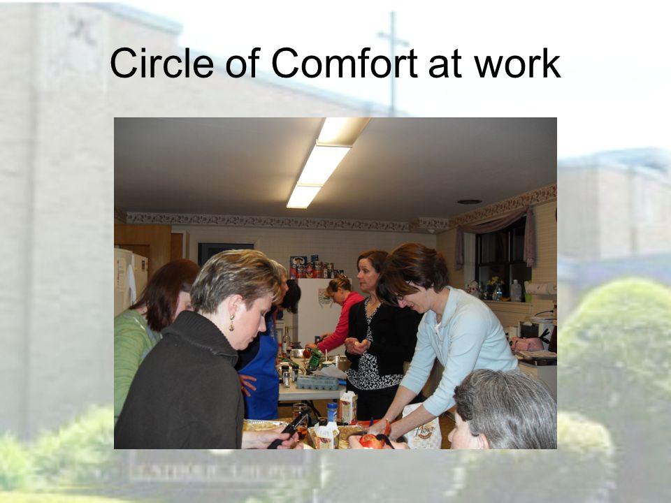 Circle of Comfort at work