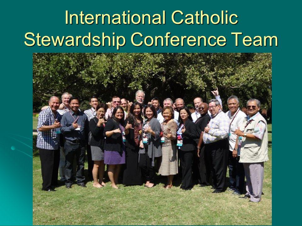International Catholic Stewardship Conference Team