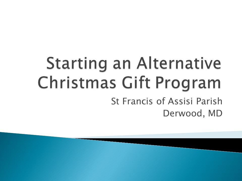  What is an Alternative Christmas Gift.