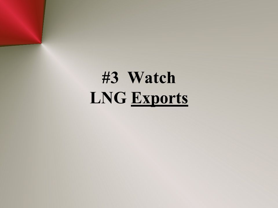 #3 Watch LNG Exports