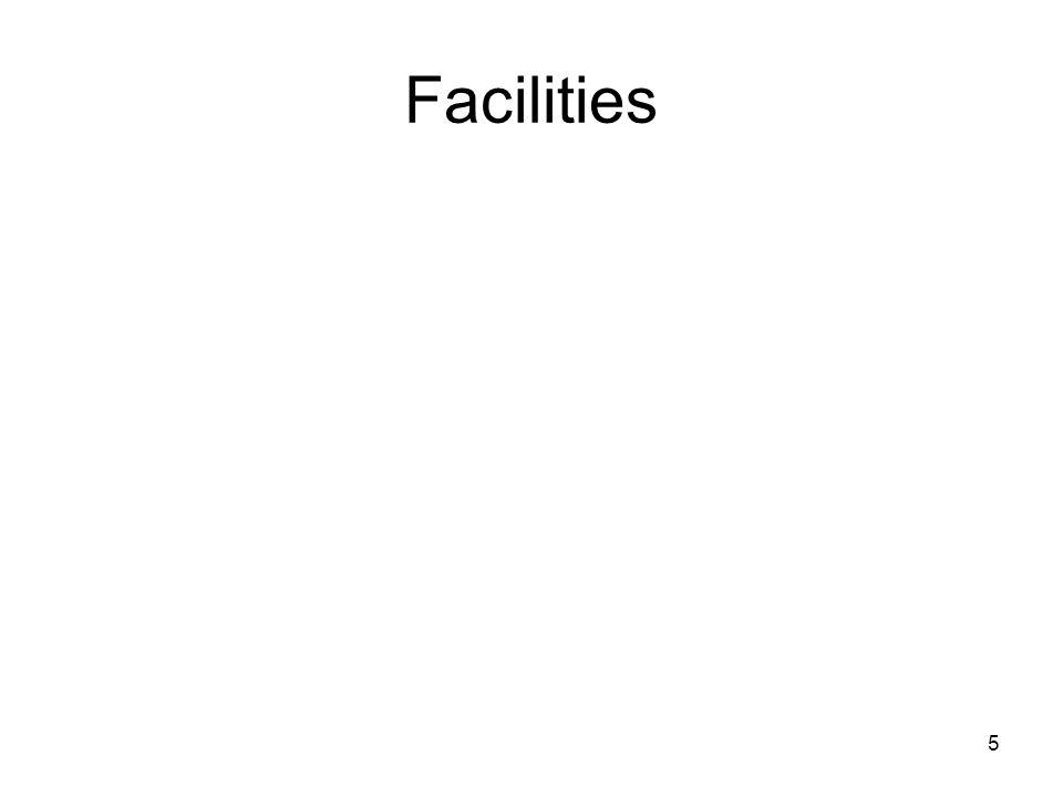 5 Facilities