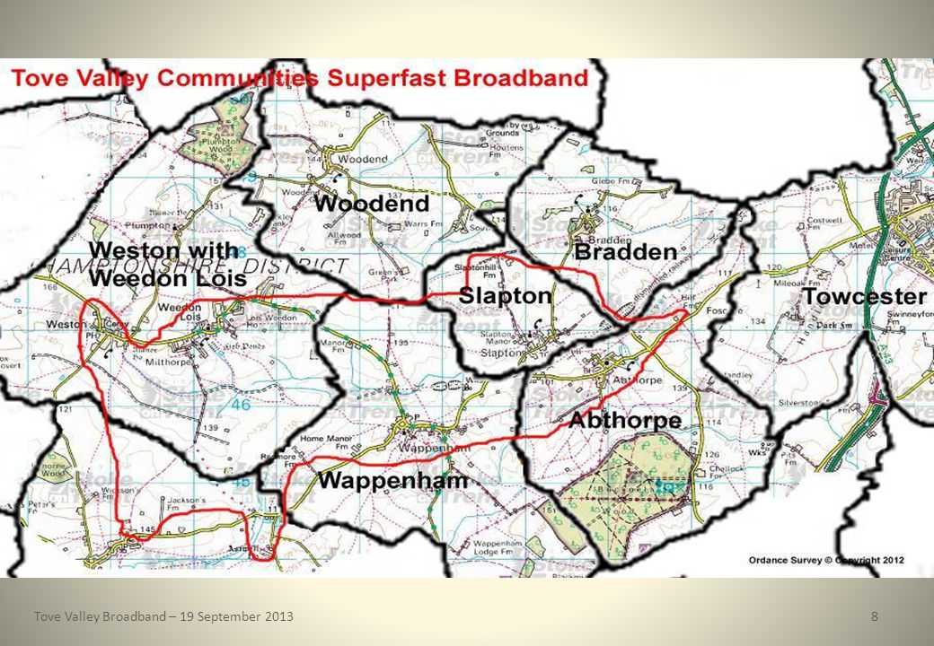 Tove Valley Broadband – 19 September 20138