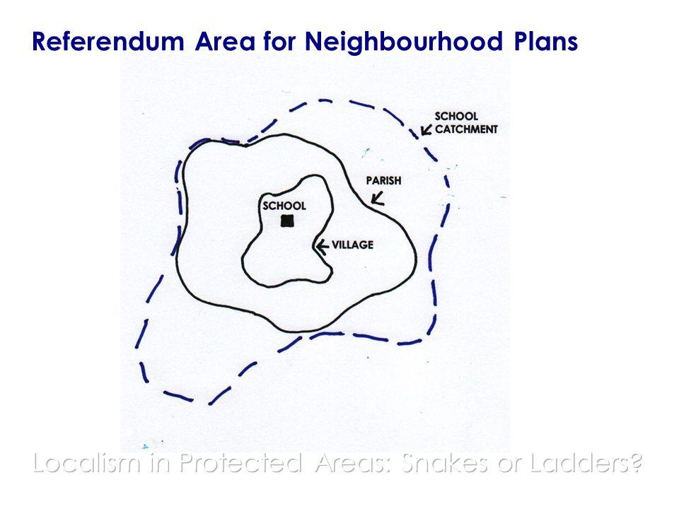Referendum Area for Neighbourhood Plans