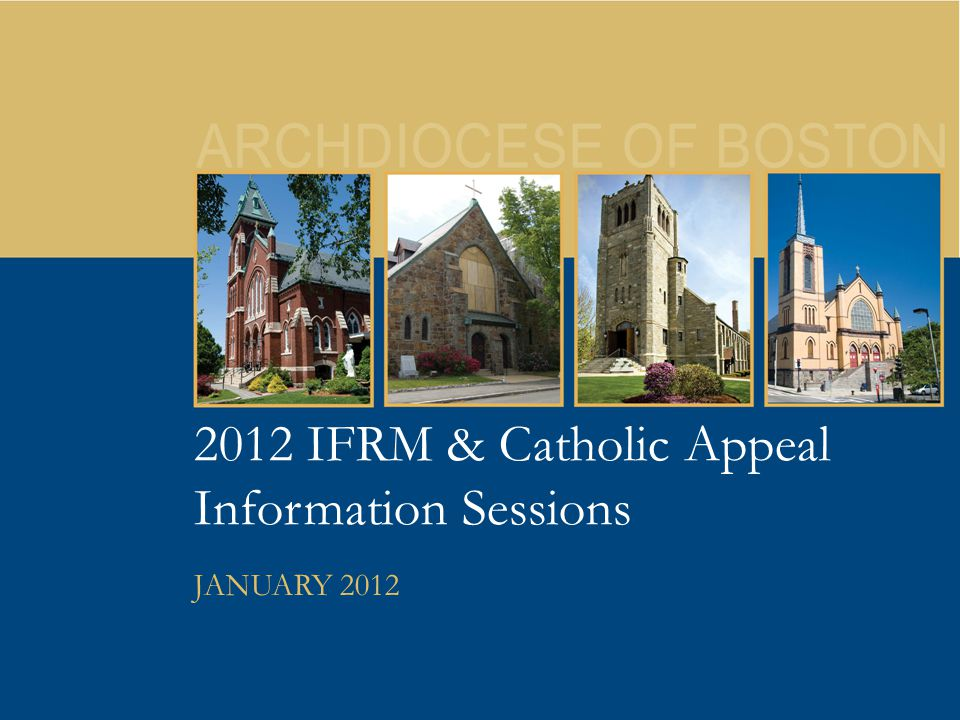 32 2012 Catholic Appeal New Look