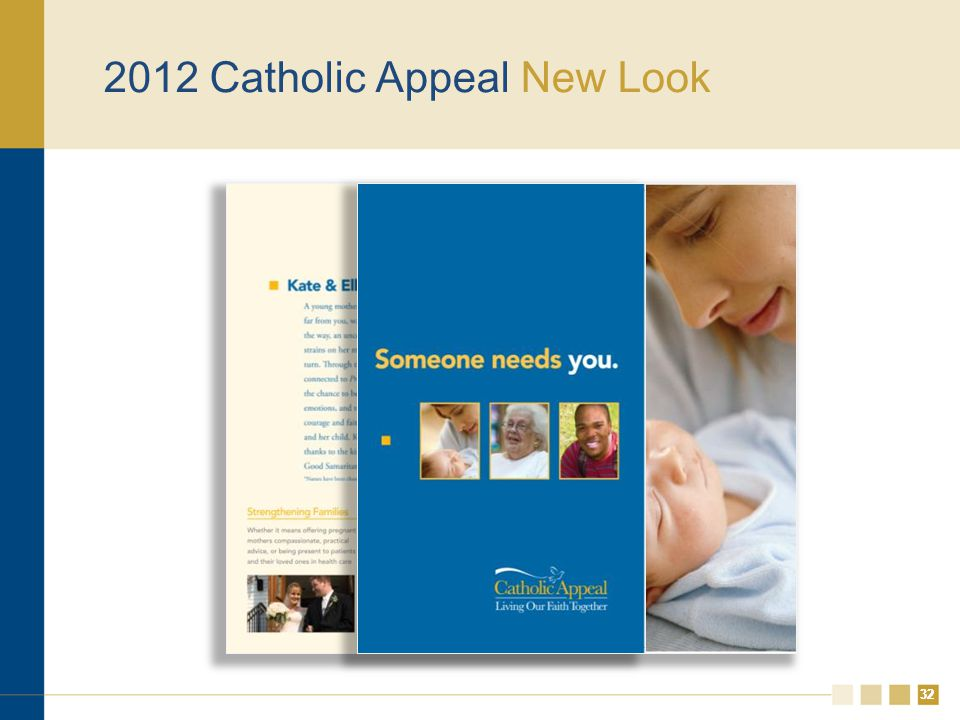32 2012 Catholic Appeal New Look