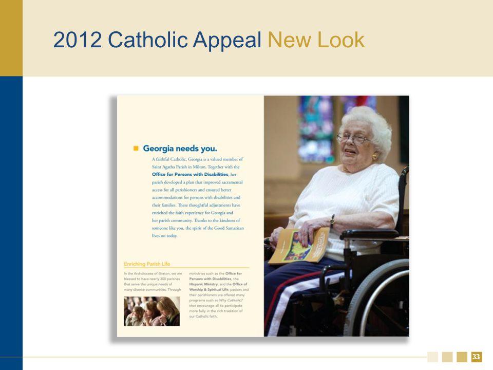 33 2012 Catholic Appeal New Look