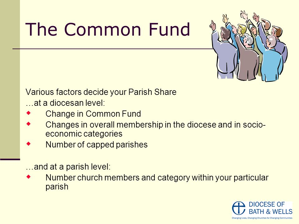 The Common Fund Chosen from a scale of A-G, where A.