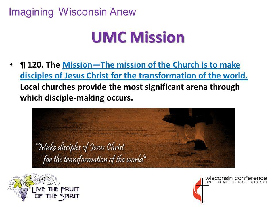 UMC Mission ¶ 120.