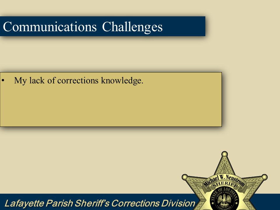 Communications Challenges