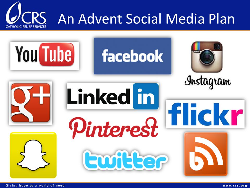 An Advent Social Media Plan