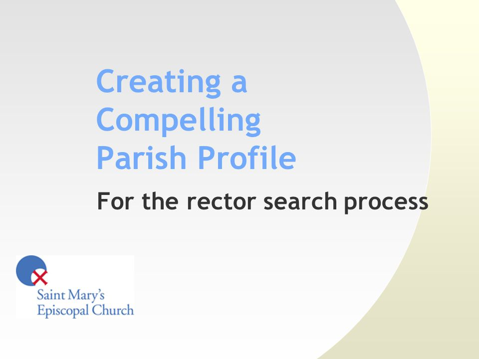 http://www.stmaryspr.org/ Content strategy Gather historical information Annual reports Parochial reports Parochial Reports are a great source of historical trend information about your parish