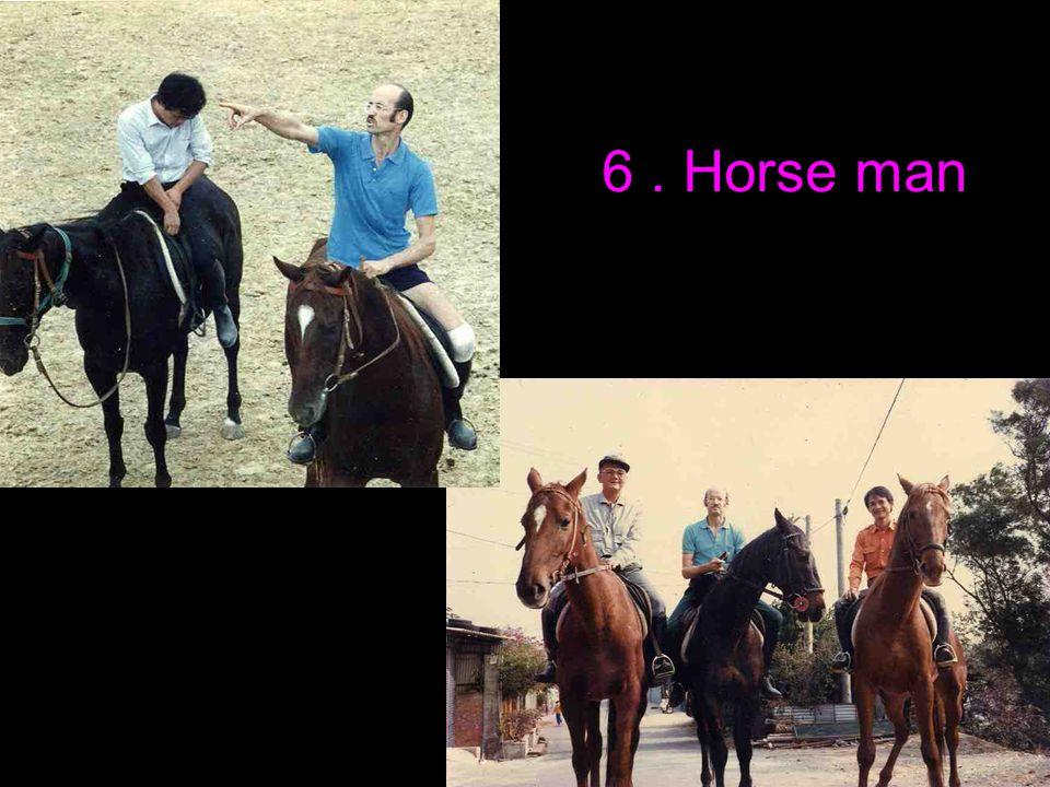 6. Horse man