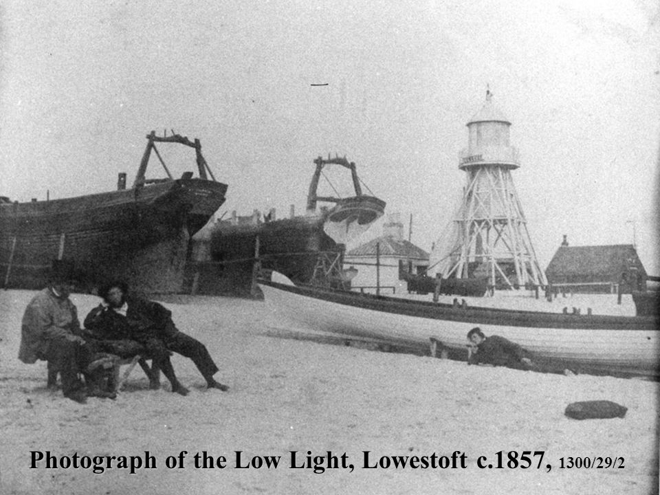 Photograph of the Low Light, Lowestoft c.1857, 1300/29/2