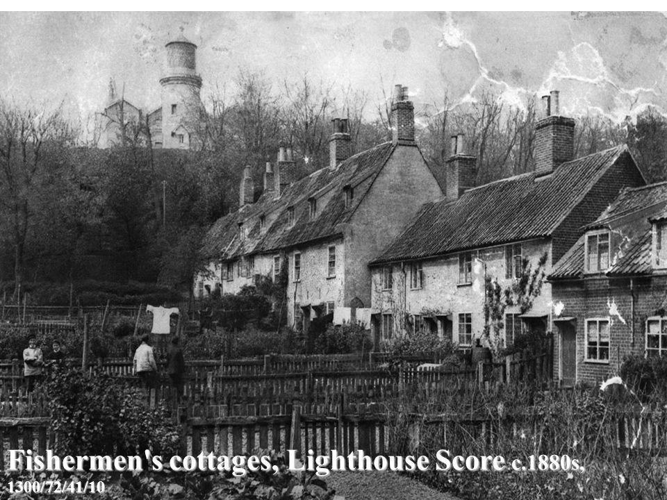 Fishermen s cottages, Lighthouse Score c.1880s, 1300/72/41/10