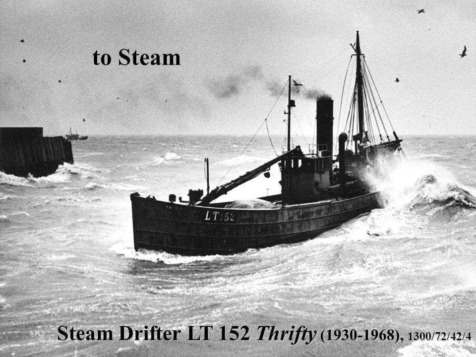 Steam Drifter LT 152 Thrifty (1930-1968), 1300/72/42/4 to Steam