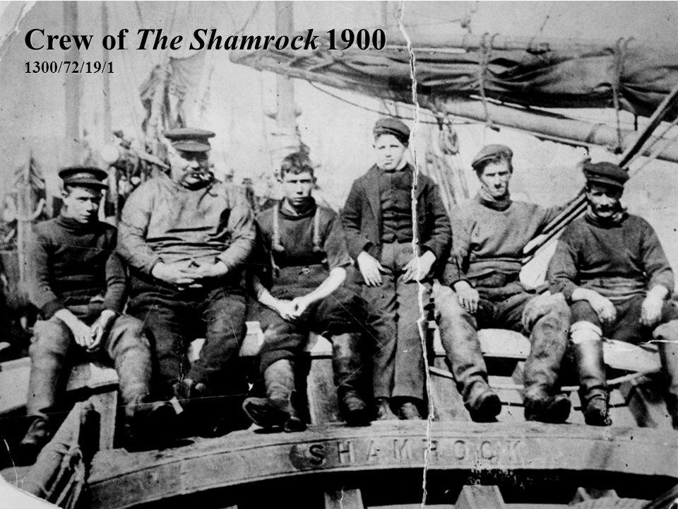 Crew of The Shamrock 1900 1300/72/19/1