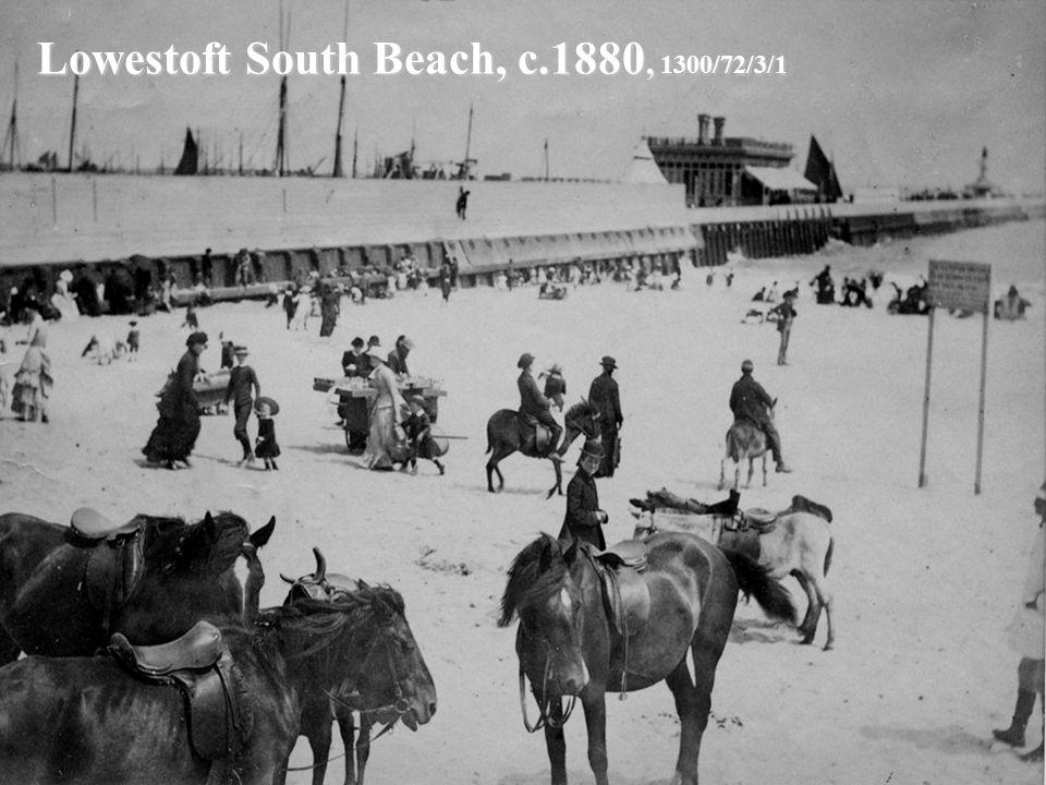 Lowestoft South Beach, c.1880, 1300/72/3/1