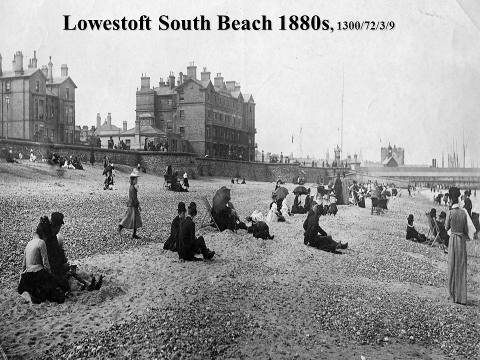 Lowestoft South Beach 1880s, 1300/72/3/9