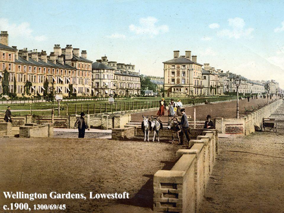 Wellington Gardens, Lowestoft c.1900, 1300/69/45