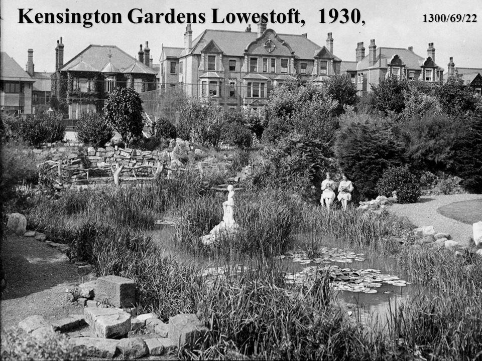 Kensington Gardens Lowestoft, 1930, 1300/69/22