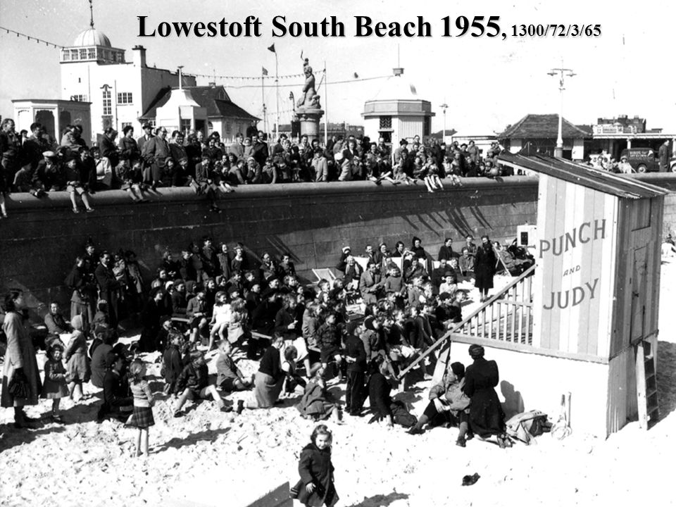 Lowestoft South Beach 1955, 1300/72/3/65