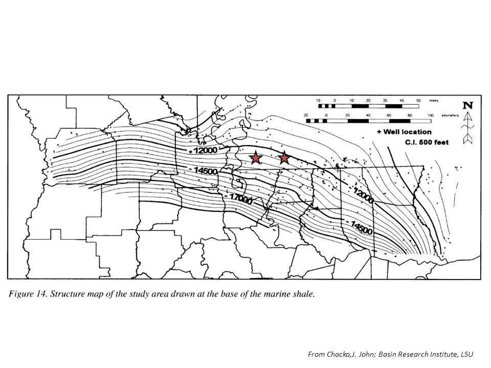 From Chacko,J. John; Basin Research Institute, LSU