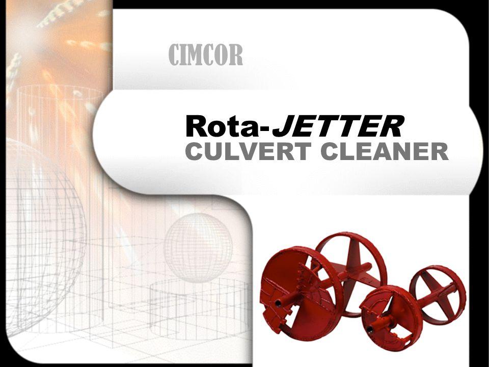 CULVERT CLEANER Rota-JETTER CIMCOR