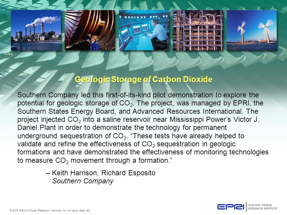 © 2009 Electric Power Research Institute, Inc. All rights reserved.