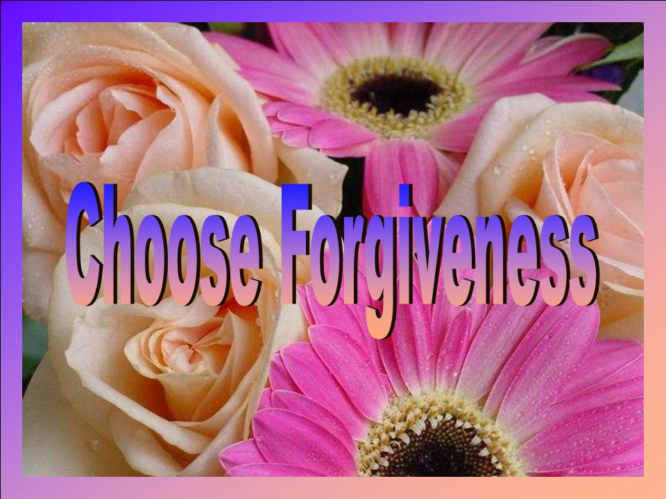 Forgiveness seems to go against your sense of what is right and fair.