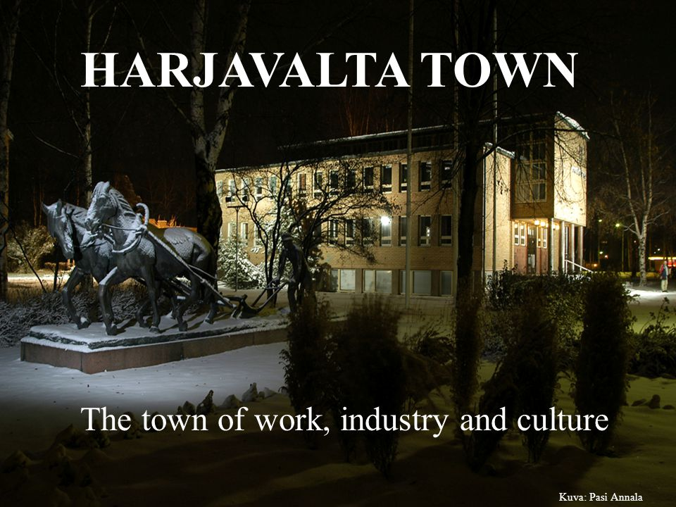 Harjavalta is situated along the railroad Tampere-Pori.