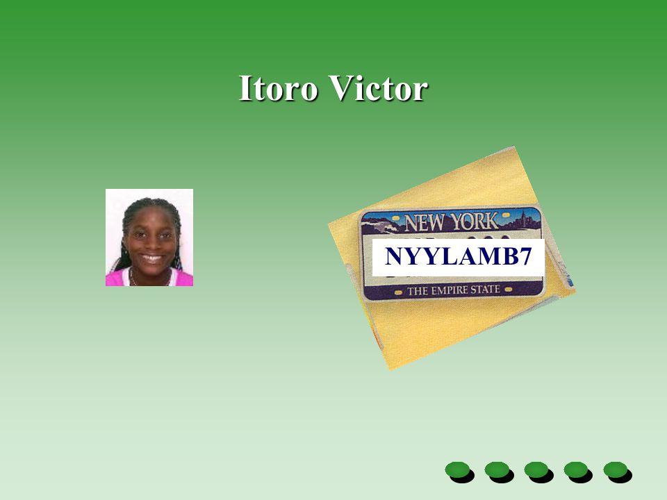 Itoro Victor NYYLAMB7