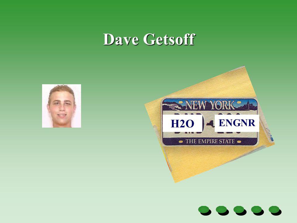 Dave Getsoff ENGNR H2O