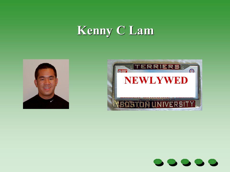 Kenny C Lam NEWLYWED