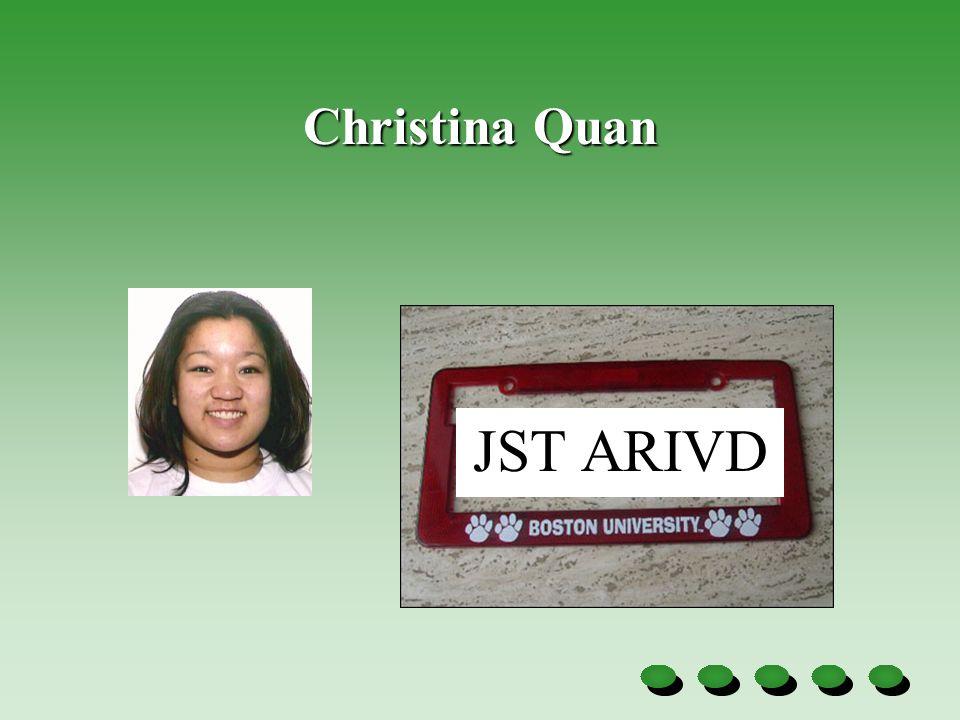 Christina Quan JST ARIVD