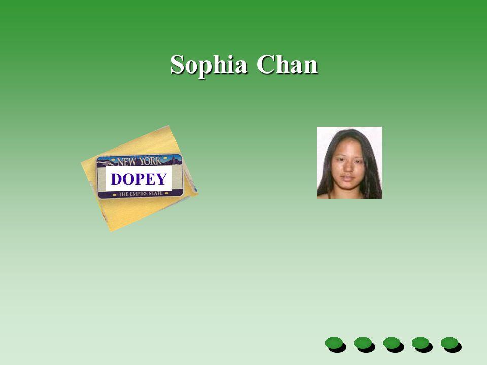 Sophia Chan DOPEY