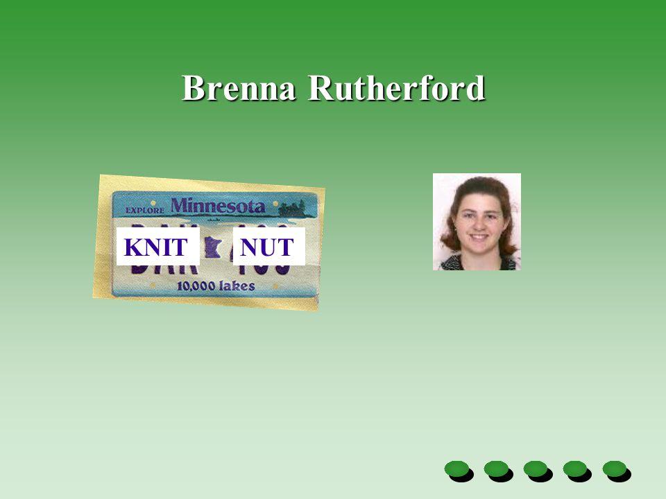 Brenna Rutherford KNITNUT
