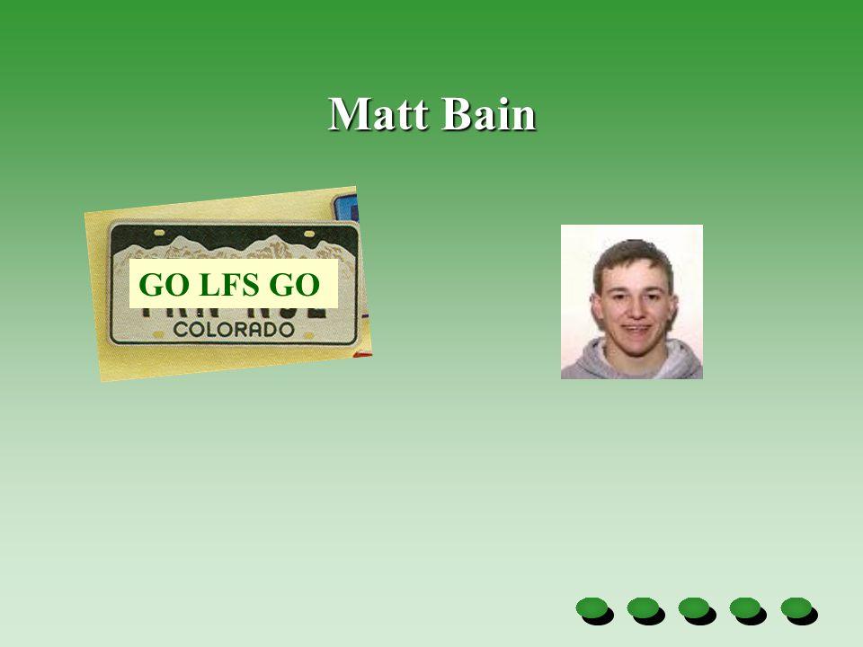 Matt Bain GO LFS GO