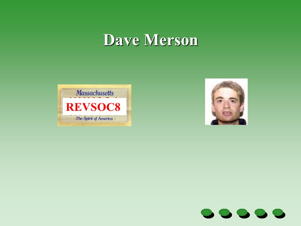 Dave Merson REVSOC8