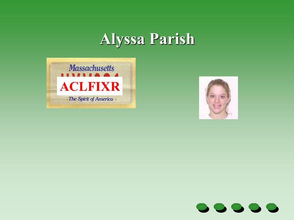 Alyssa Parish ACLFIXR