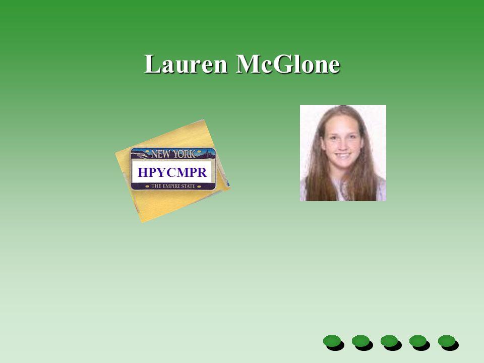 Lauren McGlone HPYCMPR